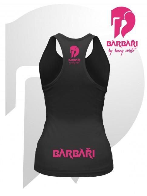 Barbarské tílko - dámské černé