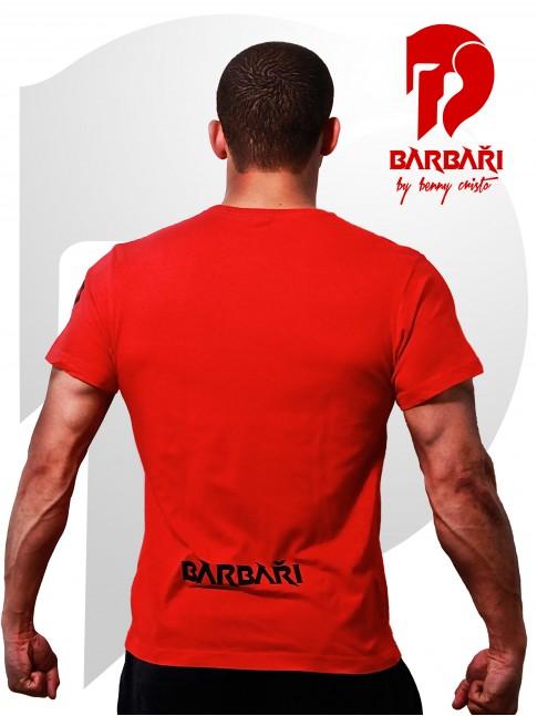 Barbarské tričko - pánské červené
