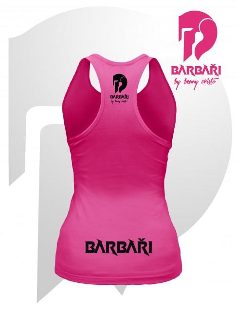 Barbarské tílko- dámské růžové