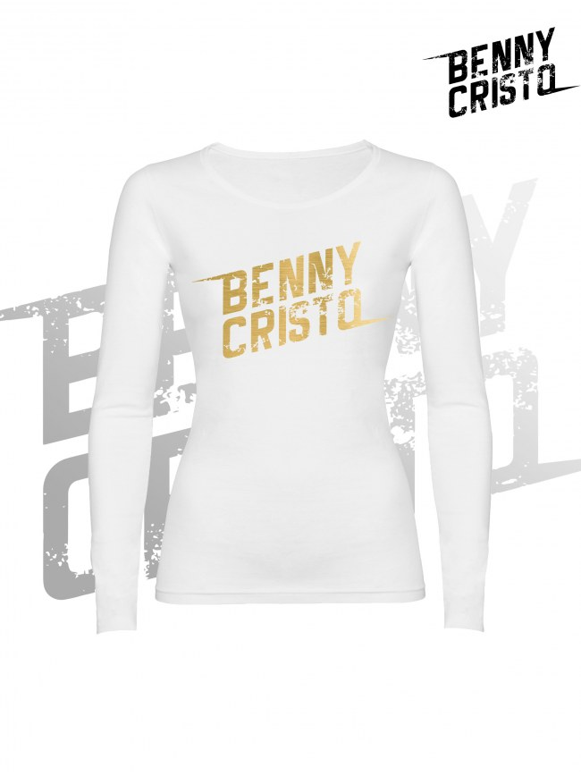 Benny Cristo tričko - dámské s dlouhými rukávy - Design 2017