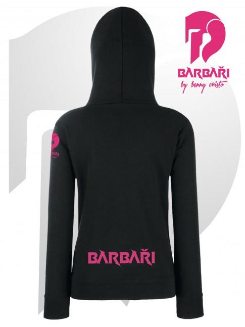 Barbarská mikina- dámská černá