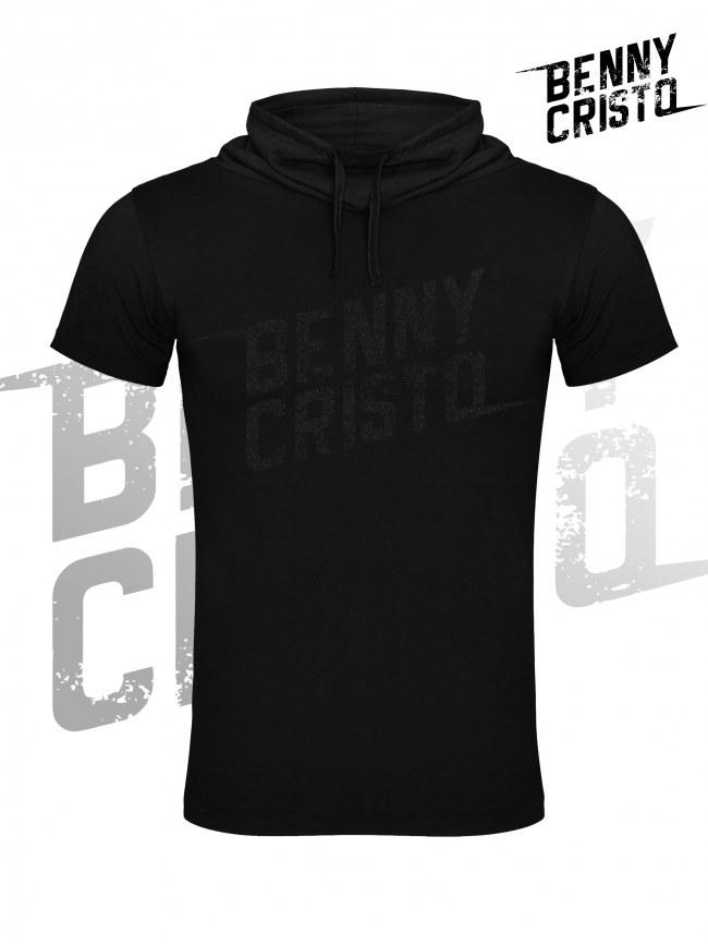 Benny Cristo tričko - pánské s vysokým límcem černé - Design 2017