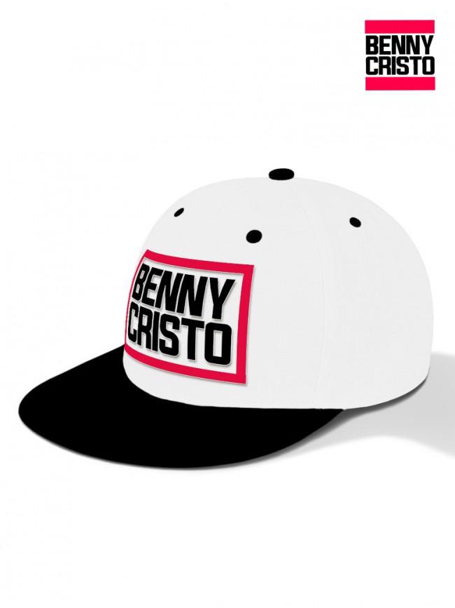 Benny Cristo - kšiltovka bílá