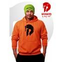 Barbarská mikina - pánská oranžová